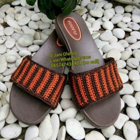 Sandal Rajut Cantik